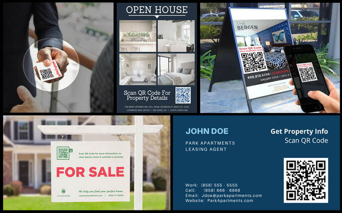 QR Codes for Real Estate Brokers and Agents